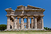 The Temple of Hera in the ruins of Paestum, Italy.