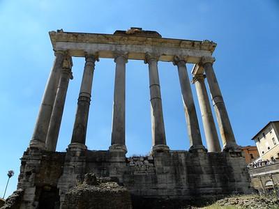 The Roman Forum, Palentine Hill & The Colosseum