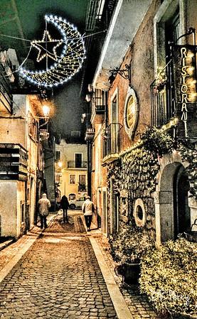 """Strada di Natale a Pescasseroli"""