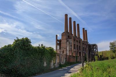 Disused Cement Factory in Ozzano Monferrato