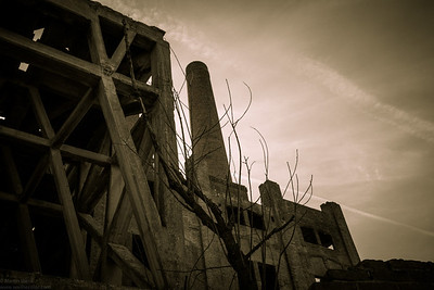 Disused Cement Factory in Ozzano Monferrato