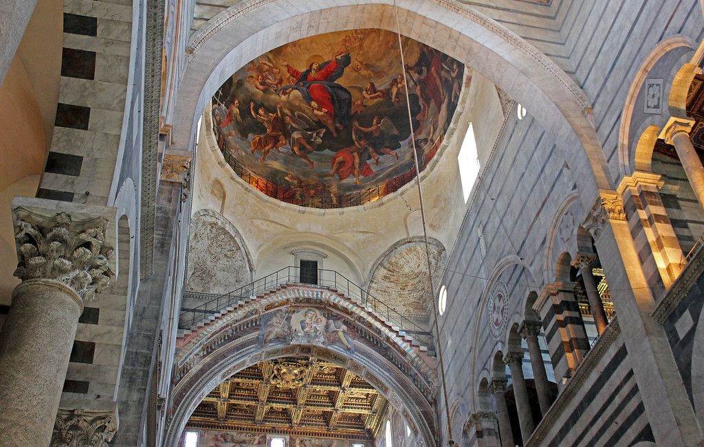 Interior of the Pisa Cathedral (Duomo di Pisa)