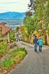 """Knoll Walking"" - Poggio Bustone, Italia"