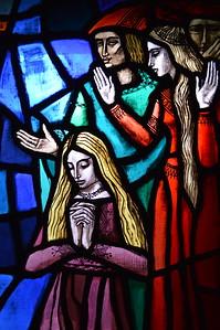 """Glass Prayer"" -  Convento San Giacomo - Poggio Bustone, Italia"