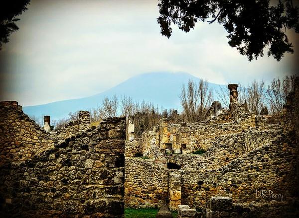 """Vesuvius and its Prey"" - Pompeii"