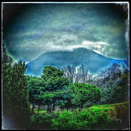 """""""The Culprit - Vesuvius"""" shot from Pompeii"""