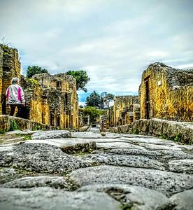 """""""Walking with Shadows"""" - Herculaneum"""