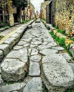 """""""Still Echoing Footsteps"""" - Pompeii"""