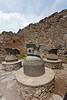 The Bakery with ovens in the ruins of Pompeii, Italy.