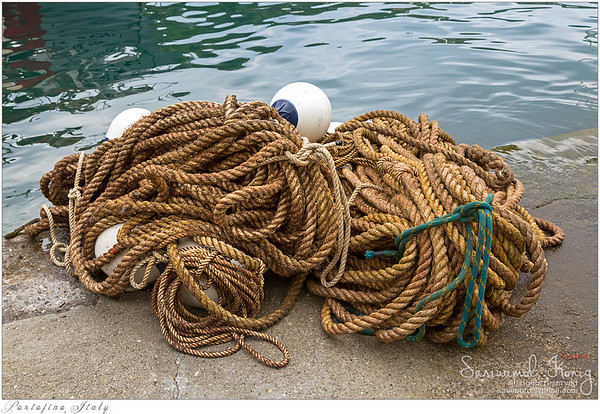 Ropes and floats