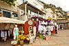 Clothing shops and stores in Positano, Amalfi Coast, Italy.