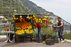 A roadside fruit stand near Praiano, Italy.