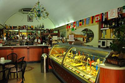 gelato store in Monopoli  delicious!