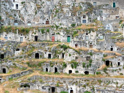 Oldest part of Matera