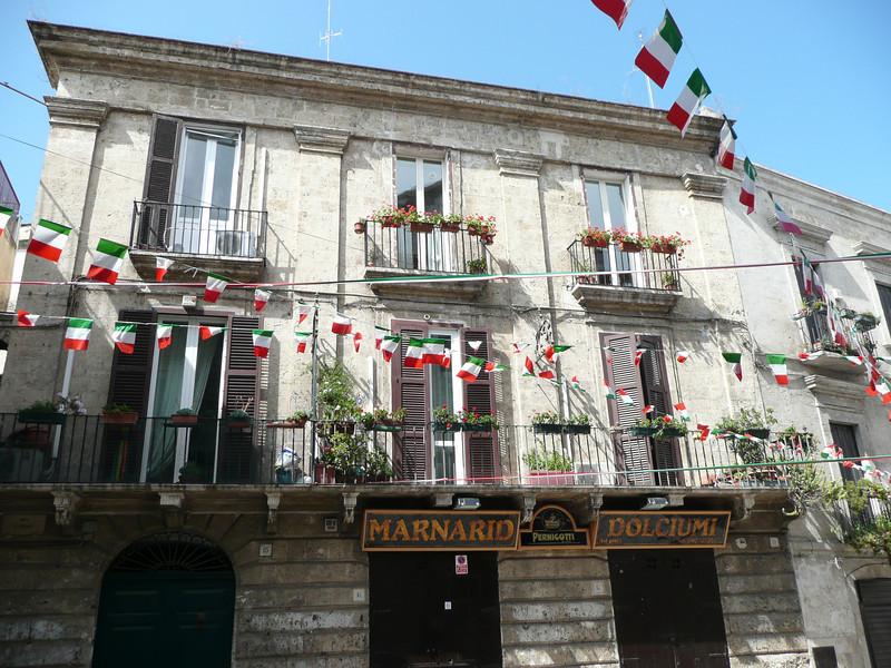 Street near Basilica di San Nicola, Bari
