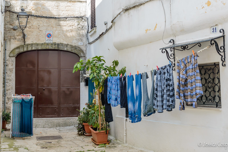 Laundry in the Alley