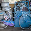 Blue and Purple Bike