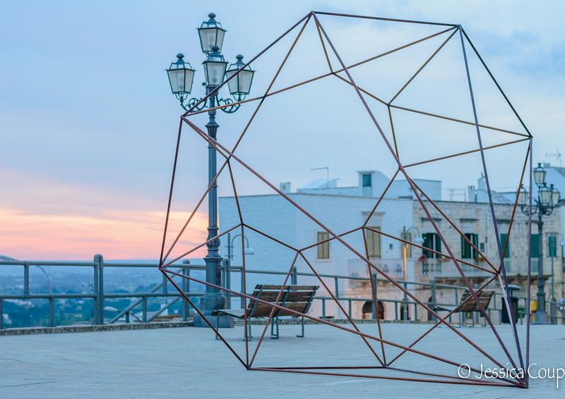Sculpture in Cisternino