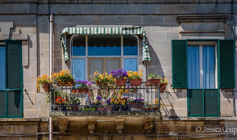Spring Balcony
