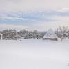 Trullo in the Snow