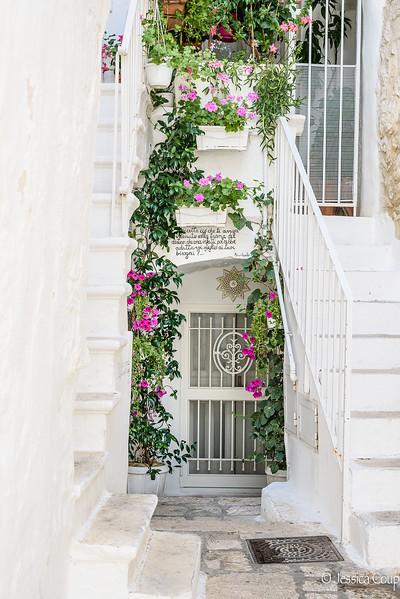 Doorway with Poetry