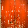 Red Double Doorway