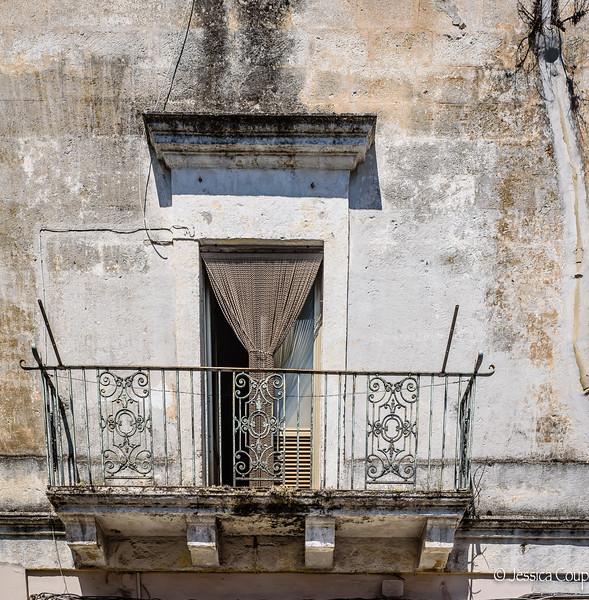 Rustic Balcony