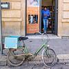 Bike with Blue Box