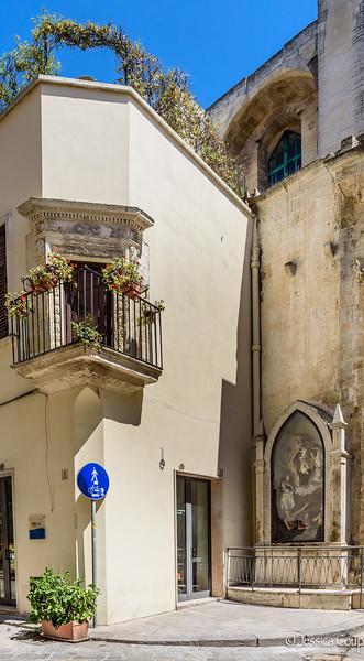 Corner Balcony