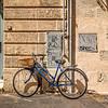Blue Bike with Basket