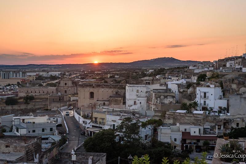 Sunset Over Massafra