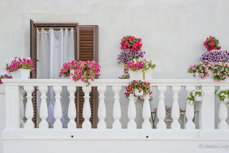Balcony of Flowers