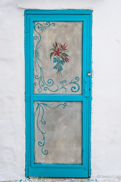 Embroidered Doorway