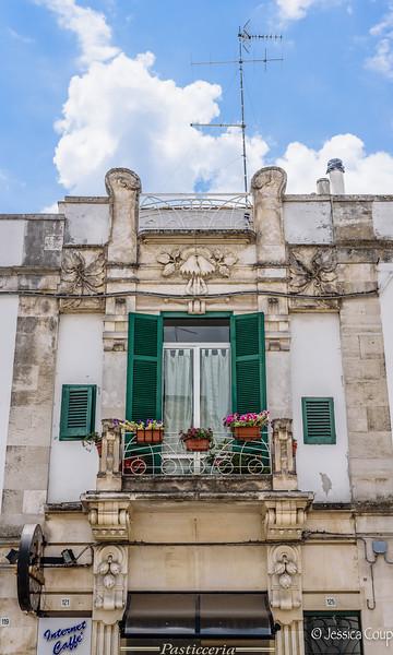 Balcony Above the Pasticceria