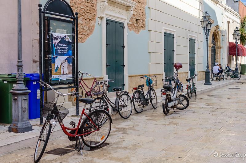 Bici in the Piazza
