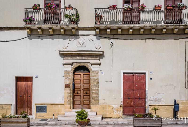 Brown Doorways