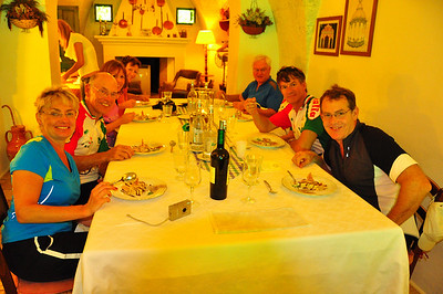 lunch at Il Frantoio