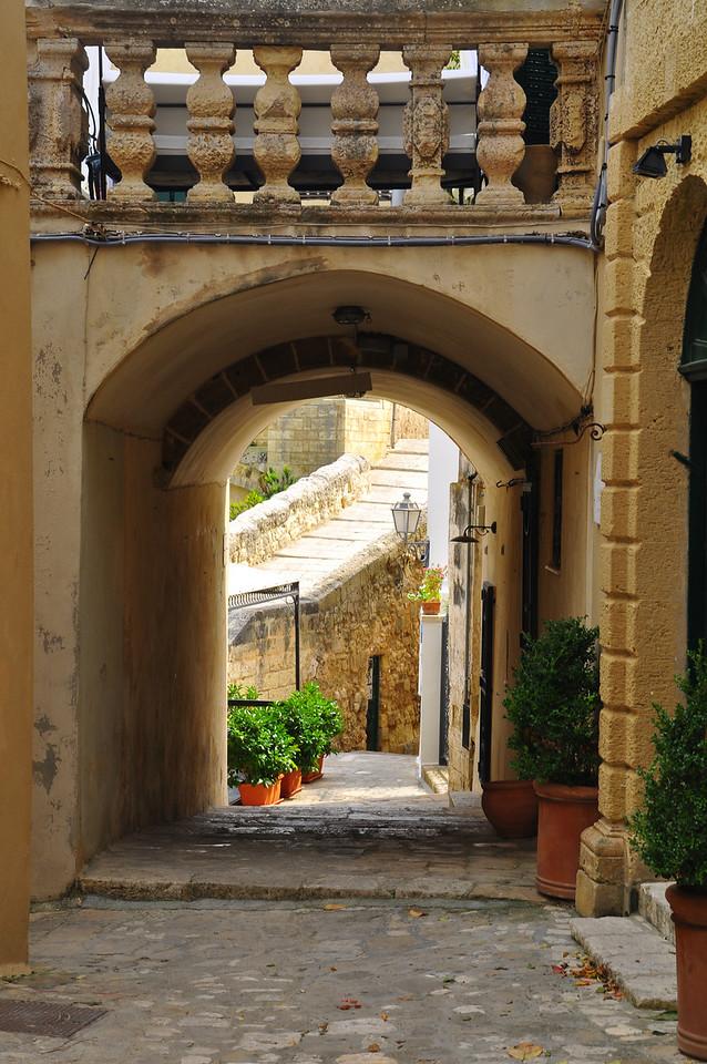 within Otranto's city walls