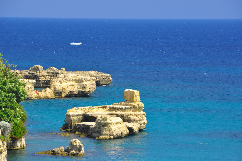 otranto shore--Adriatic Sea
