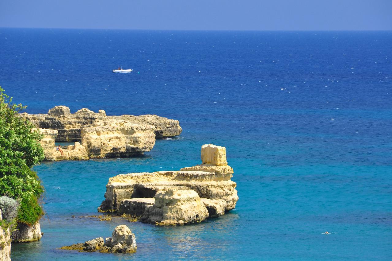 otranto shore--Adriatic Sea