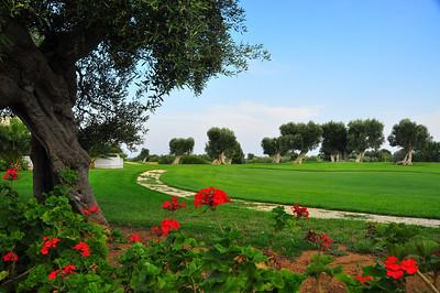 golf hole at Masseria Torre Maizza