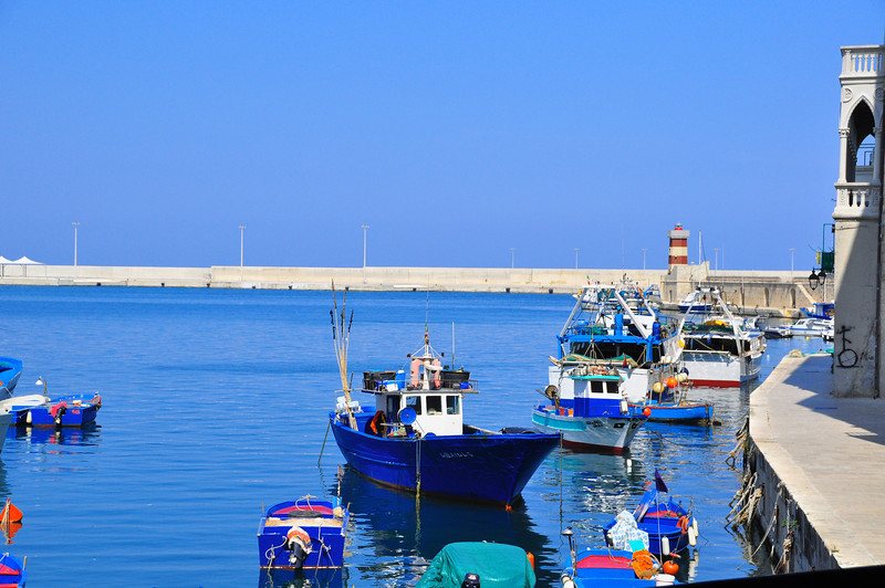 harbor of Monopoli