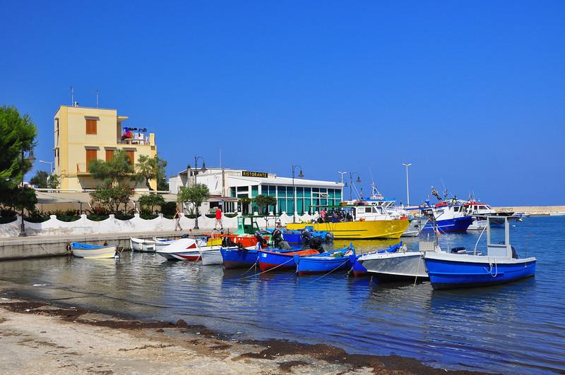 tiny Savelletri harbor