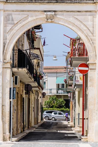 Side Street of Torre Canne