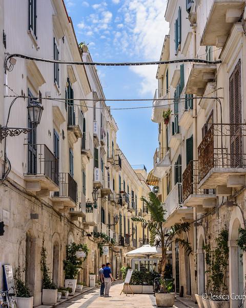 Street in Trani