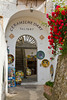 The entrance to a Ceramics shop in Ravello, Italy.