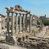 The Roman Forum in Rome.<br /> <br /> Il Foro Romano