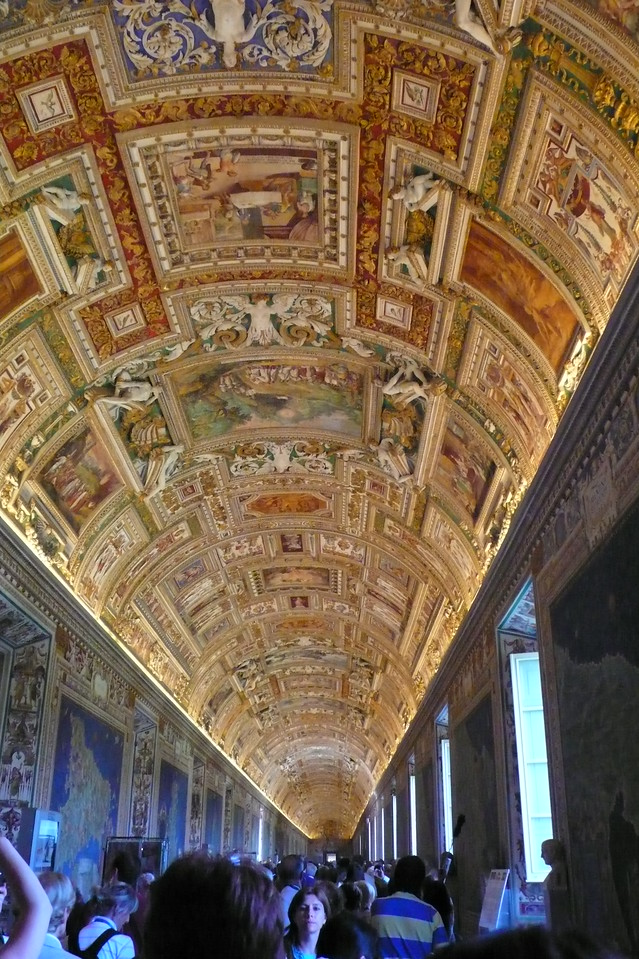 Entry to Sistine Chapel