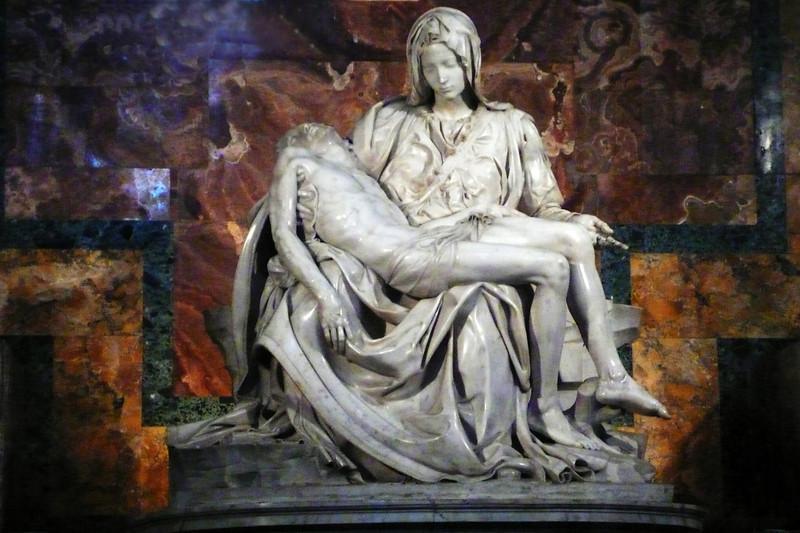 41, Michelangelo's Pieta<br /> Rome
