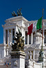 The Victor Emmanuel II monument in Rome, Italy.